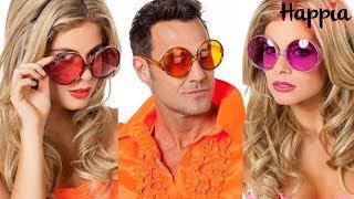 Большие круглые очки: красные, оранжевые и розовые / Обзор