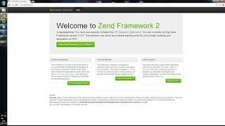 Install Zend Framework 2, PHP, GIT, Composer and MySQL on Windows