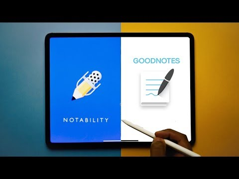 Notability vs Goodnotes - The BEST iPad Notetaking App