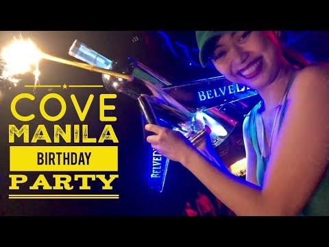 Manila Nightlife: Cove Manila Saturday Birthday Party Okada Resort and Casino