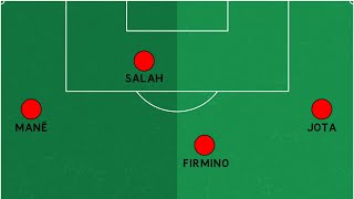 How Liverpool's front three became a front four