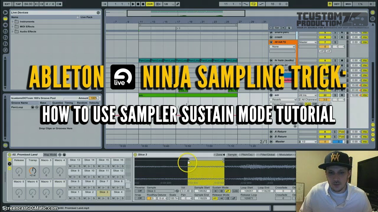 Ableton sampler tutorial: 3 deadly techniques | bassgorilla.