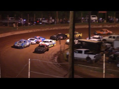 Winder Barrow Speedway Stock 4 Cylinders B's Feature Race  6/1/19