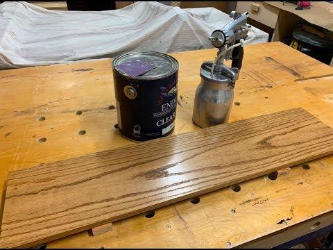 How To Spray Polyurethane