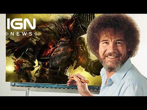5.9 Million People Watched Bob Ross' Twitch Marathon - IGN News