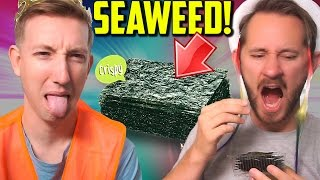 Eat Seaweed w/ MATTHIAS! Dollar Store Challenge