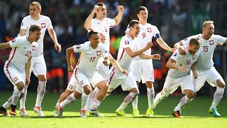 Polish national team - The way to the quarterfinals of EURO 2016! Let's experience it again!
