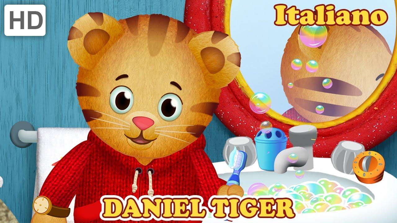 Daniel Tiger in Italiano - Come Preparare un Pasto Delizioso