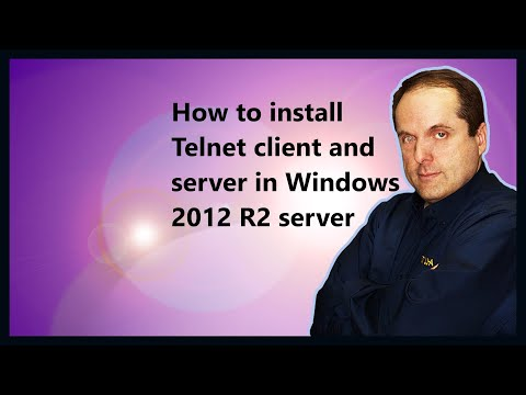 How To Install Telnet Client And Server In Windows 2012 R2 Server