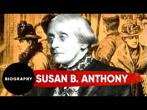 A Leader Of Women's Rights | Susan B. Anthony | Biography