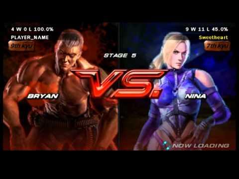 Tekken 6 - Bryan Fury Arcade Playthrough