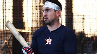 Alex Bregman Hitting in the Batting Cages (MLB Spring Training 2019)   Spring Training Ep. 1