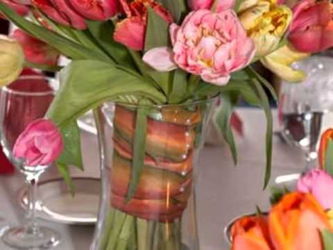 Spring Wedding Centerpiece Ideas Youtube