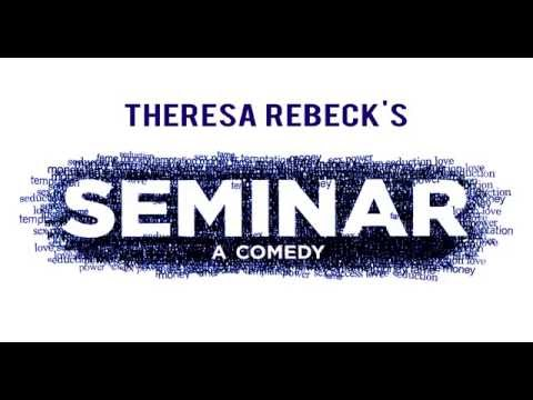 Seminar by Theresa Rebeck trailer