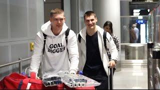 ЧМ-2017. Евгений Кузнецов и Дмитрий Орлов прилетели в Германию