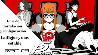 Persona 5 rpcs3 download