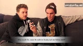 vocalvictim backstage with Killerpilze 02.03.2013 München Interview