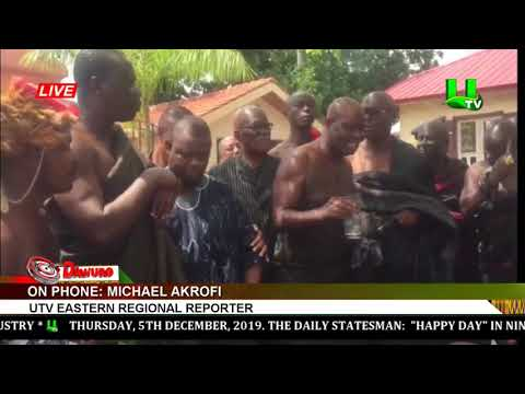 NDC Delegation Storms Okyehene's Palace Over Kwame Zu's Comment