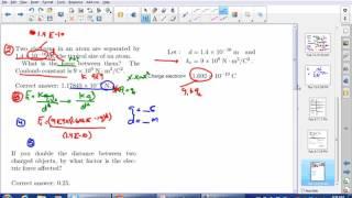Electrostatics math Tutorial