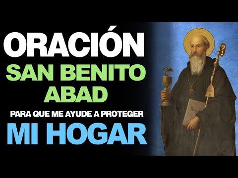 🙏 Oración de San Benito Abad PARA PROTECCIÓN DEL HOGAR 🙇️