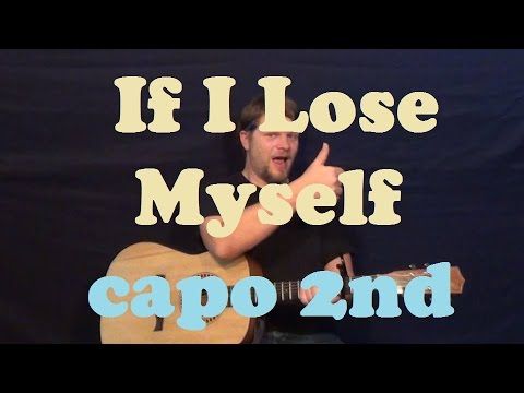 If I Lose Myself (One Republic) Easy Strum Chords Guitar Lesson How to Play Tutorial