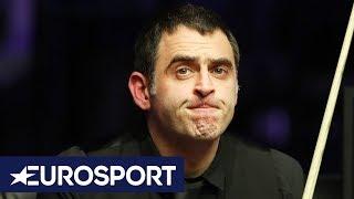 Is Ronnie O'Sullivan Throwing Away Century Breaks on Purpose? | Welsh Open Snooker 2019 | Eurosport
