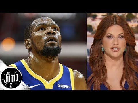 The 'Kevin Durant Might Play This Season' Narrative Needs To Stop - Rachel Nichols | The Jump