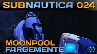 SUBNAUTICA [024] [Moonpool Fragmente finden] Let's Play Gameplay Deutsch German thumbnail