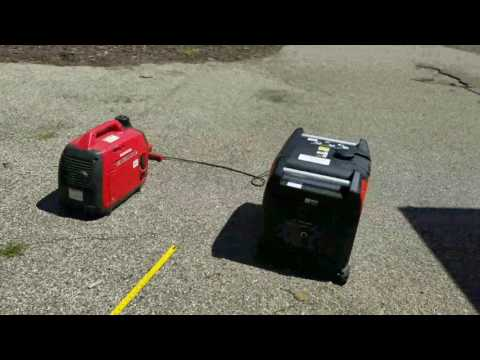 HF Predator 3500 generator vs Honda EU2000