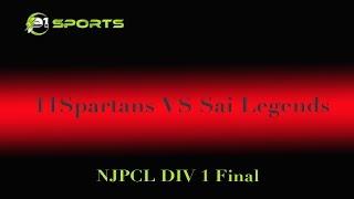 NJPCL Div 1: 11Spartans vs Sai Legends