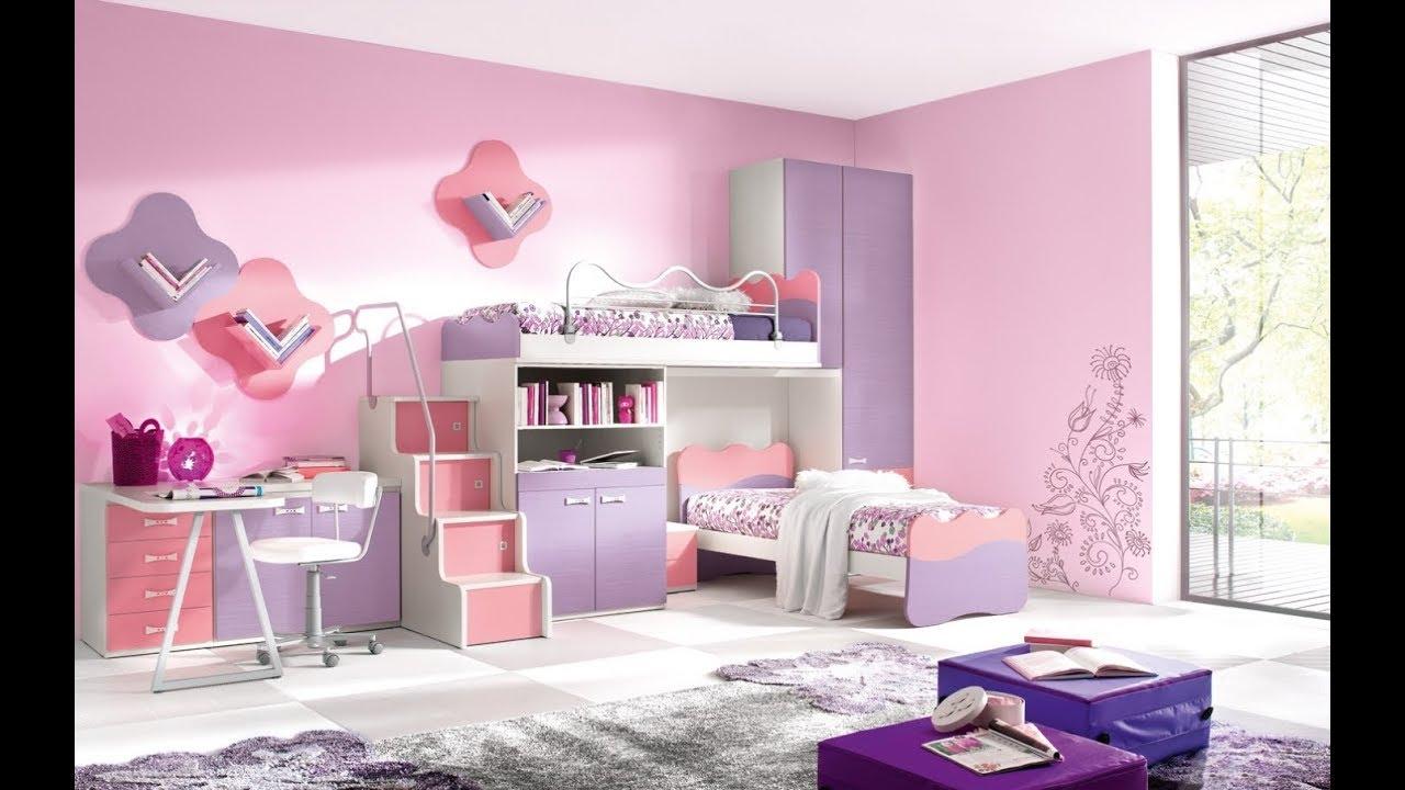 Creative Pink Girls Room Design Ideas Tour 2019 | DIY Interior Design  Decorating On a Budget