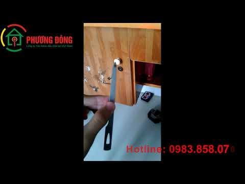 Cách mở khóa tủ gỗ bằng Cây dũa móng tay như Film chưởng | PHUONGDONG Locksmith