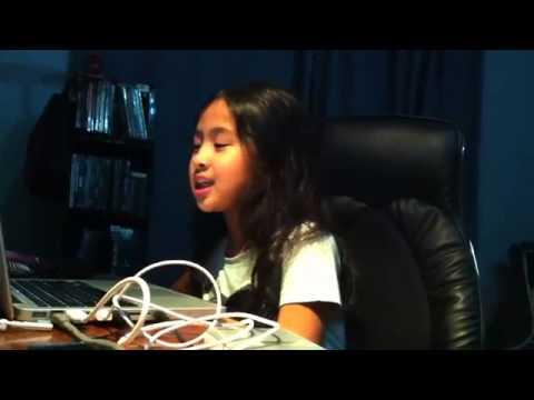 arunachali 9years child singing Nicki Minaj song