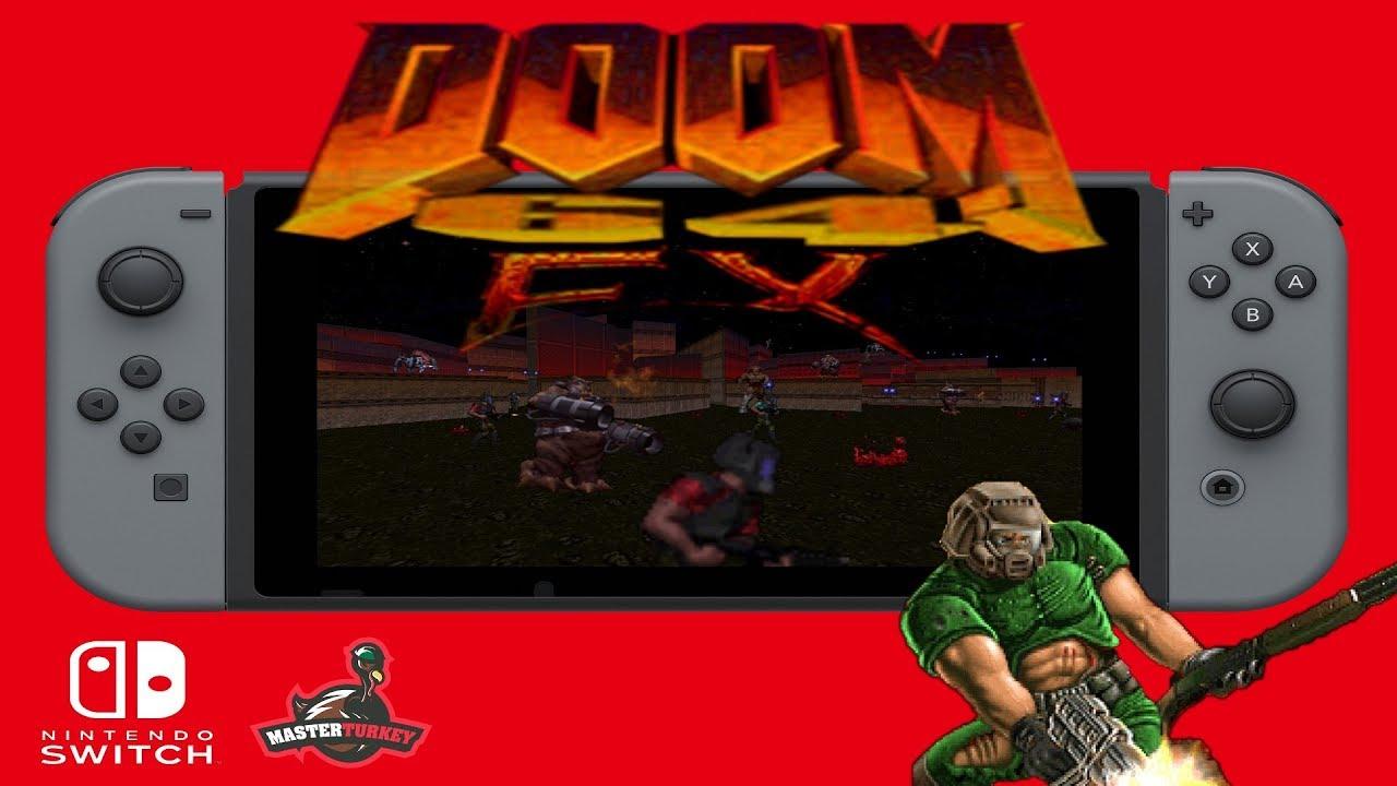 Doom64 EX for Nintendo Switch (Homebrew)