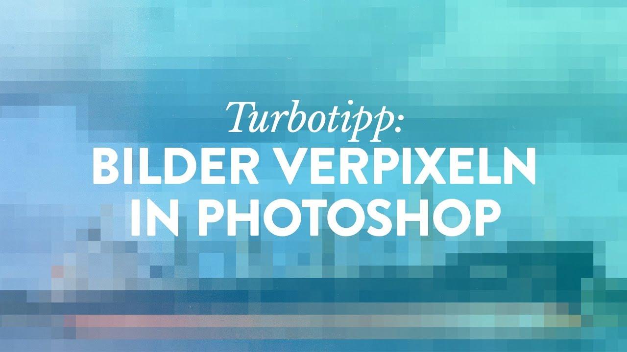 Machen rückgängig photoshop verpixelung Google