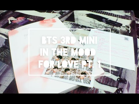 [ Unboxing ] BTS (Bangtan Boys) In the Mood for Love Pt. 1 (3rd Mini Album)
