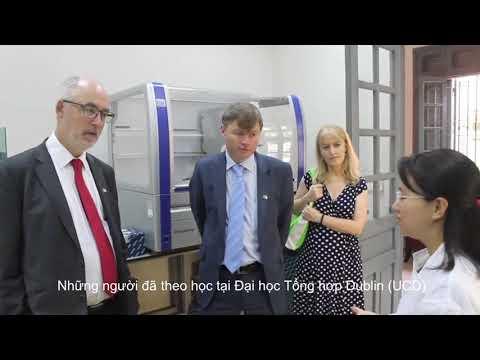 Irish Embassy visit NIHE-Vietnam