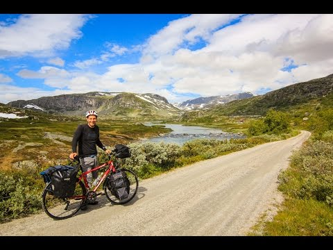 Rallarvegen Bike Tour (GoPro Video) - NORWAY