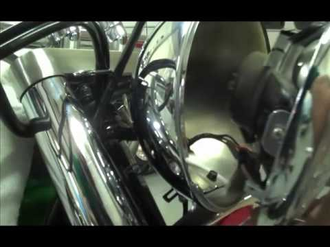 Kawasaki Vulcan 800 Remove Headlight And Signal Lights A Model Youtube