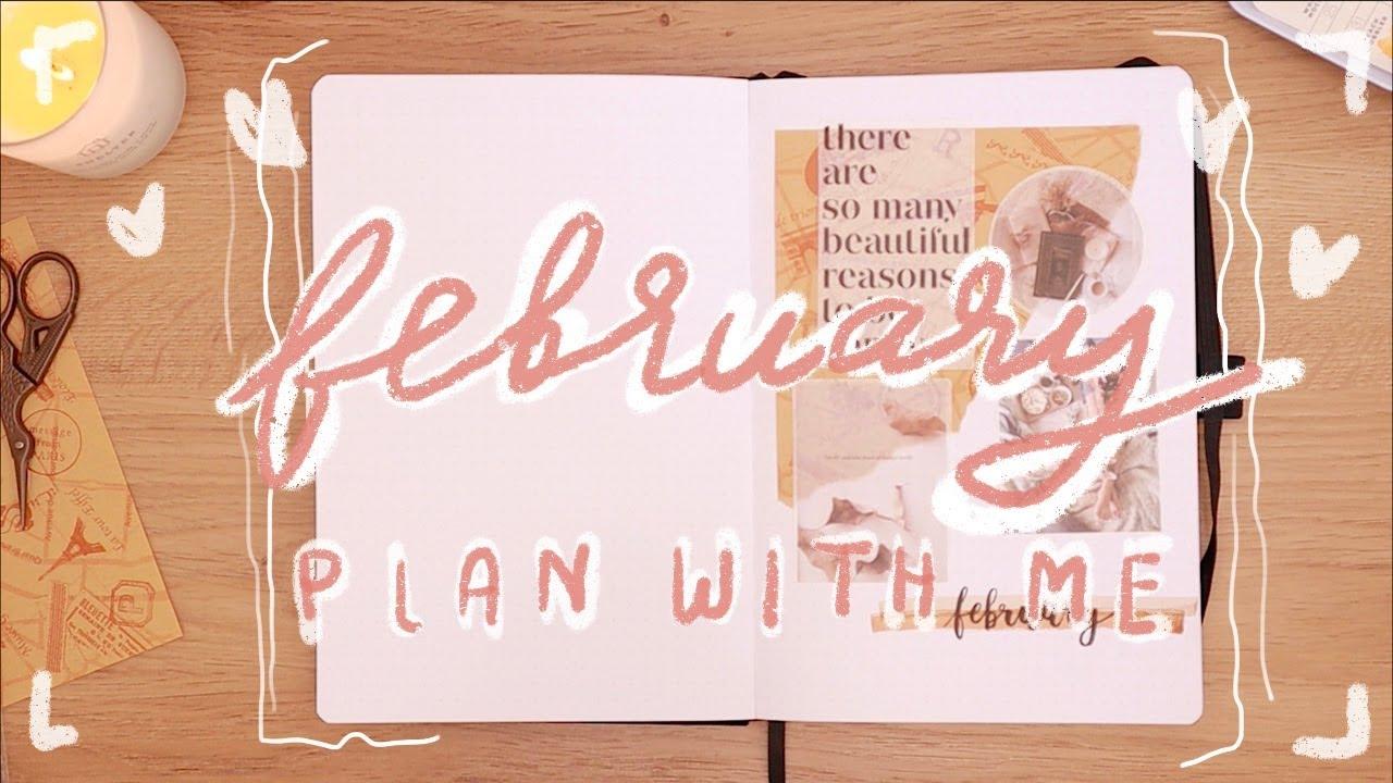 February plan with me | แพลนเนอร์ กุมภาพันธ์ | Bullet Journal 2020