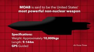 What is the 'Mother Of All Bombs'? MOAB Explainer