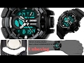 || UNBOXING || Skmei Analog Digital Multicolor Dial Men's Watch  HMWA05S074C0