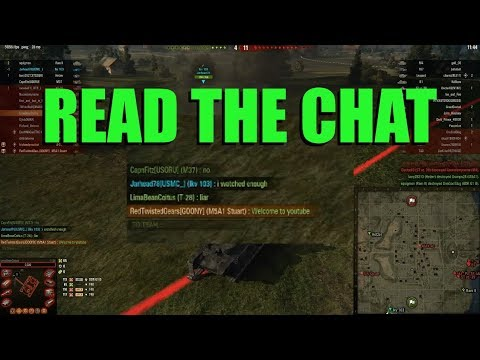 WOT - Read The Chat | World of Tanks