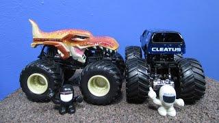 NEA Police Mega-Wrex Cletus Fox Sports 1 Monster Jam 2014 New ModelsTrucks