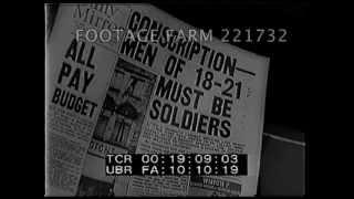 England War Preparations w/ Anderson Shelters 221732-09 | Footage Farm