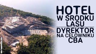 Moloch w środku lasu. Hotel Gołębiewski jest większy niż zamek w Stobnicy!