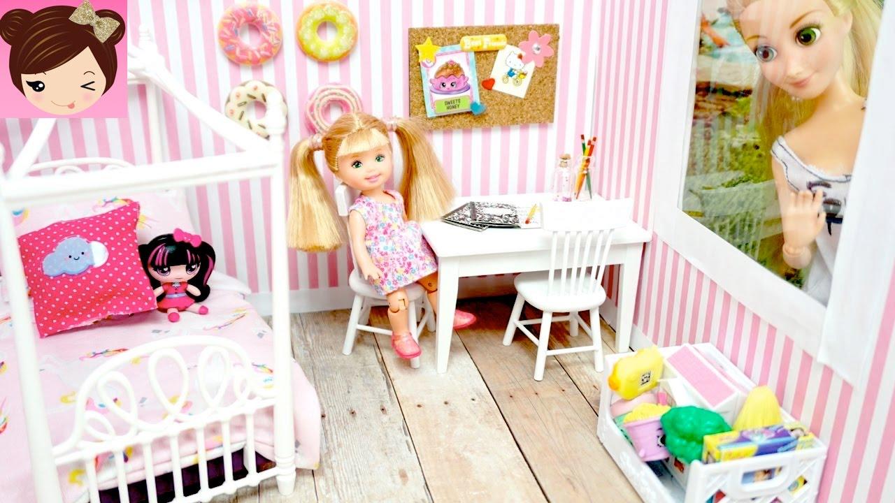 DIY Doll Room for Disney Rapunzel Toddler
