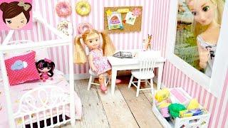 DIY Doll Room for Disney Rapunzel Toddler - Titi Toys & Dolls - Crafts for Kids