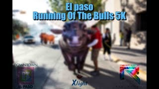 Downtown El Paso Running Of The Bulls 5K Run