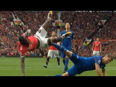 Manchester United Vs Everton 4-0   Highlights & Goals   17th September 2017